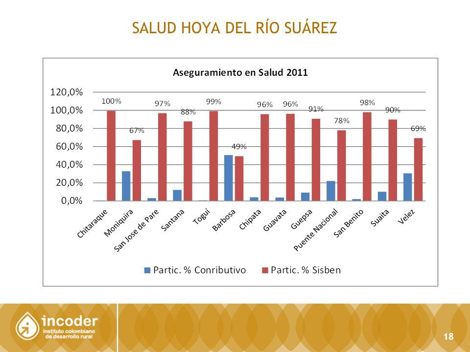 SALUD HOYA DEL RÍO SUÁREZ