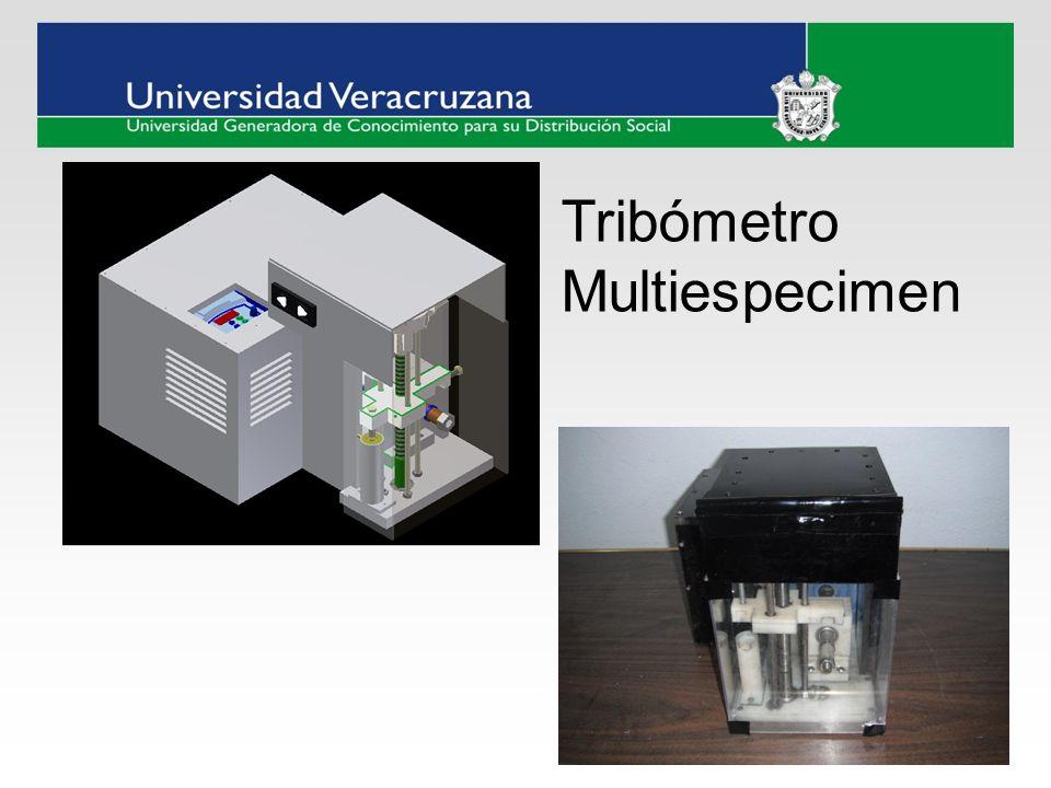 Tribómetro Multiespecimen