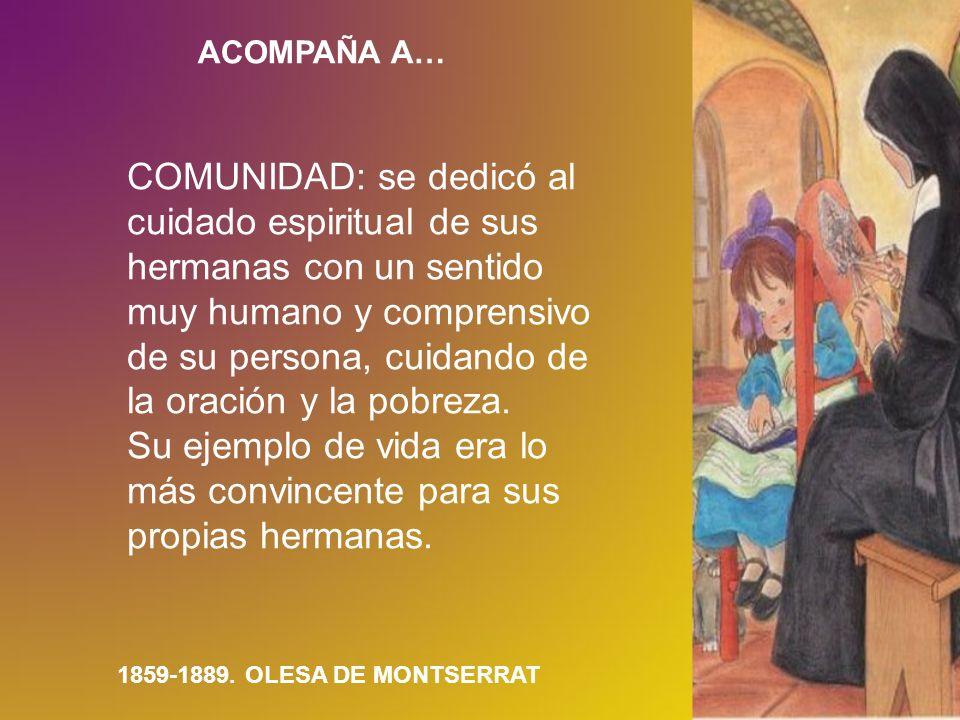 ACOMPAÑA A…