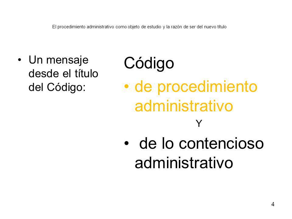 de procedimiento administrativo