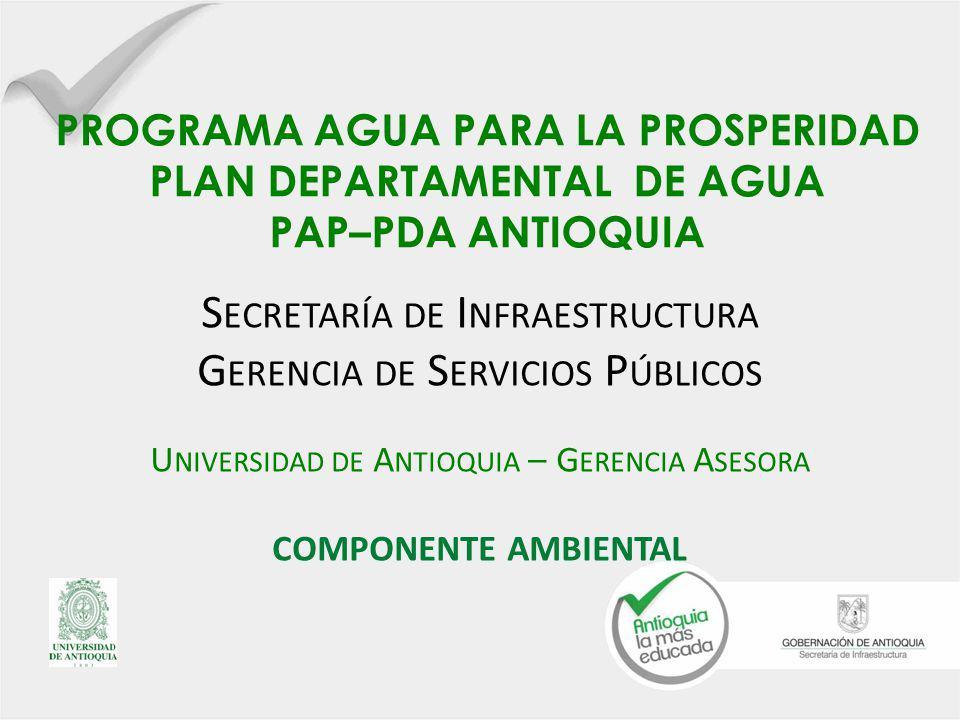 Secretaría de Infraestructura Gerencia de Servicios Públicos