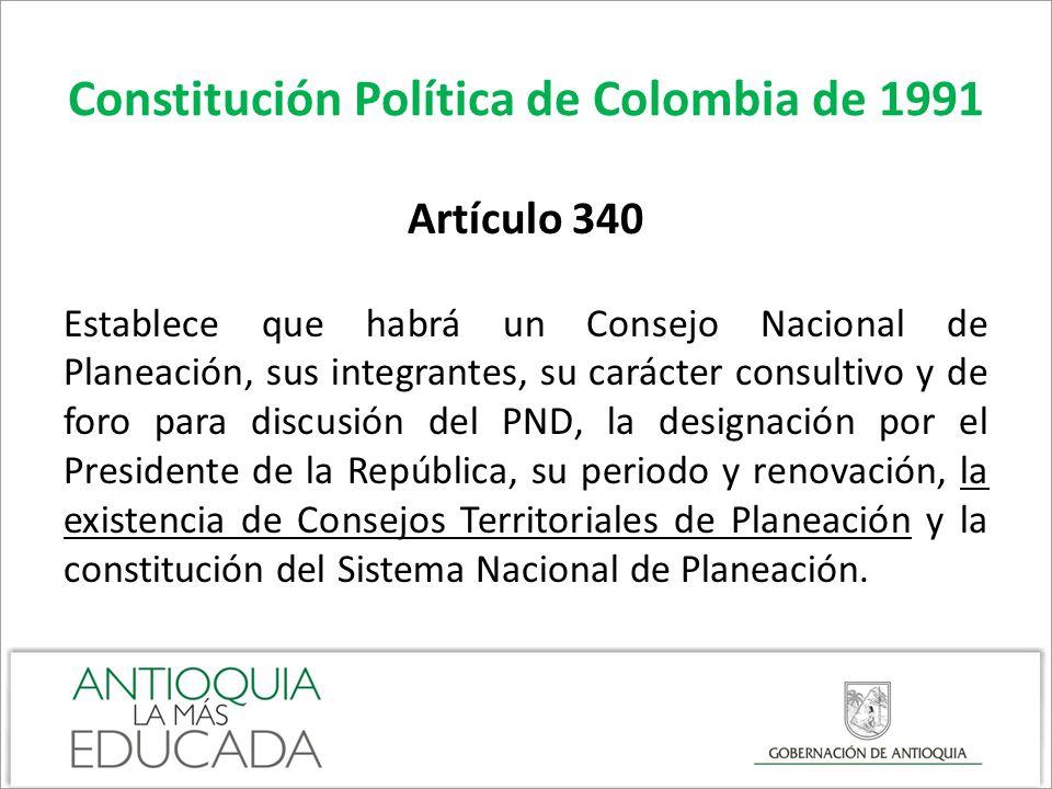 Constitución Política de Colombia de 1991