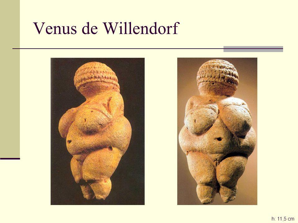 Venus de Willendorf h: 11,5 cm