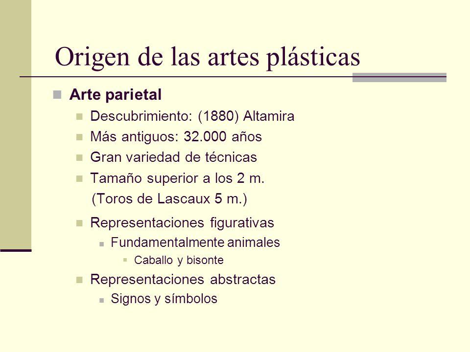 Origen de las artes plásticas