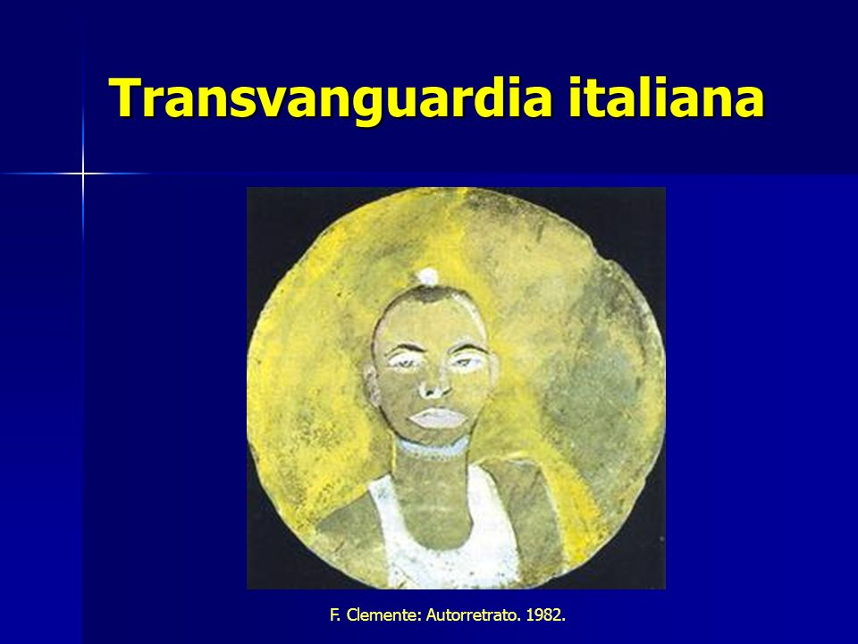 Transvanguardia italiana