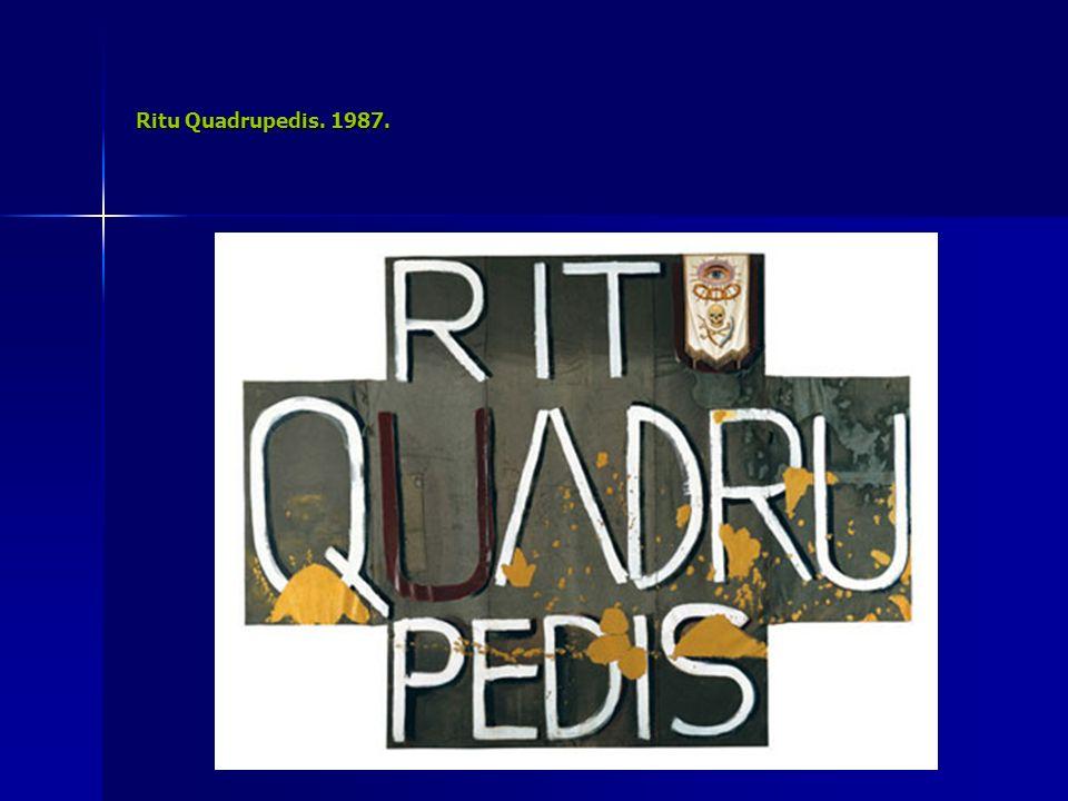 Ritu Quadrupedis. 1987.