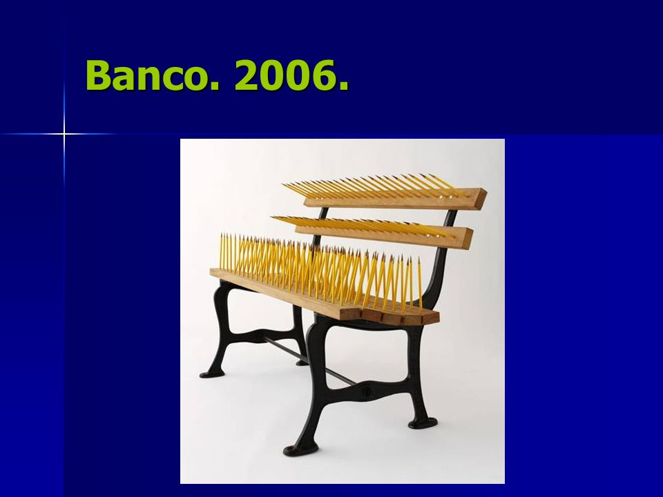Banco. 2006.