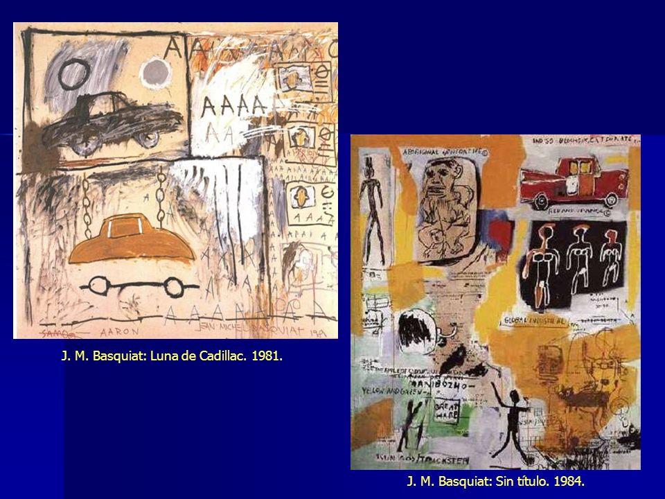 J. M. Basquiat: Luna de Cadillac. 1981.