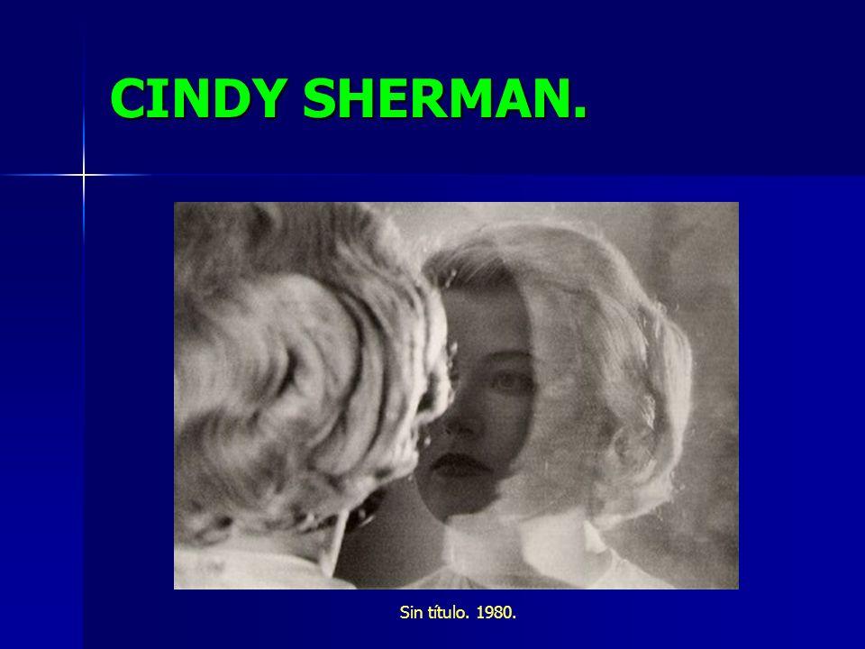 CINDY SHERMAN. Sin título. 1980.