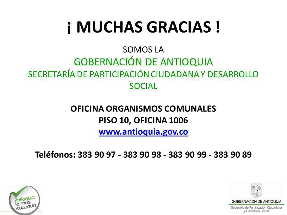 OFICINA ORGANISMOS COMUNALES
