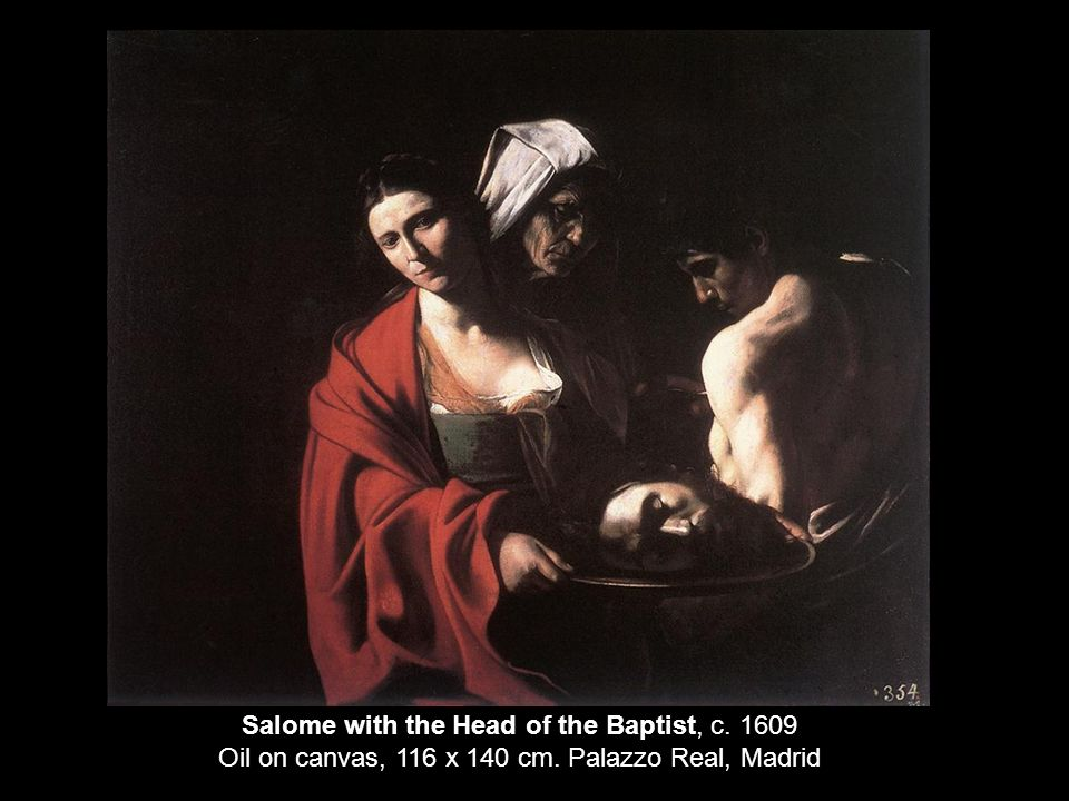 Salome with the Head of the Baptist, c