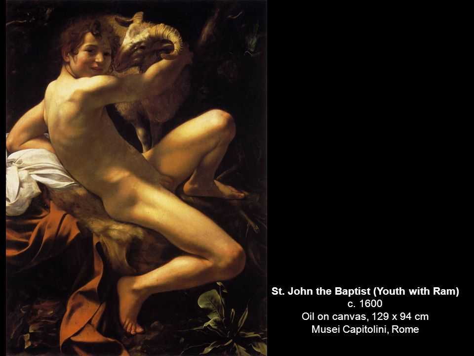 St. John the Baptist (Youth with Ram) c