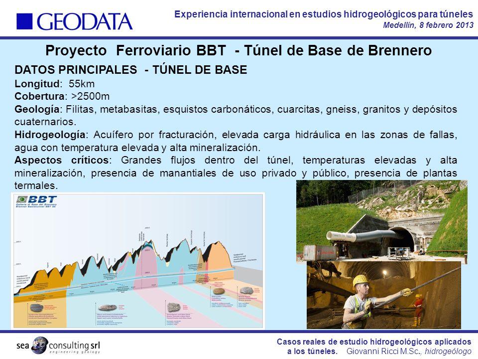 Proyecto Ferroviario BBT - Túnel de Base de Brennero