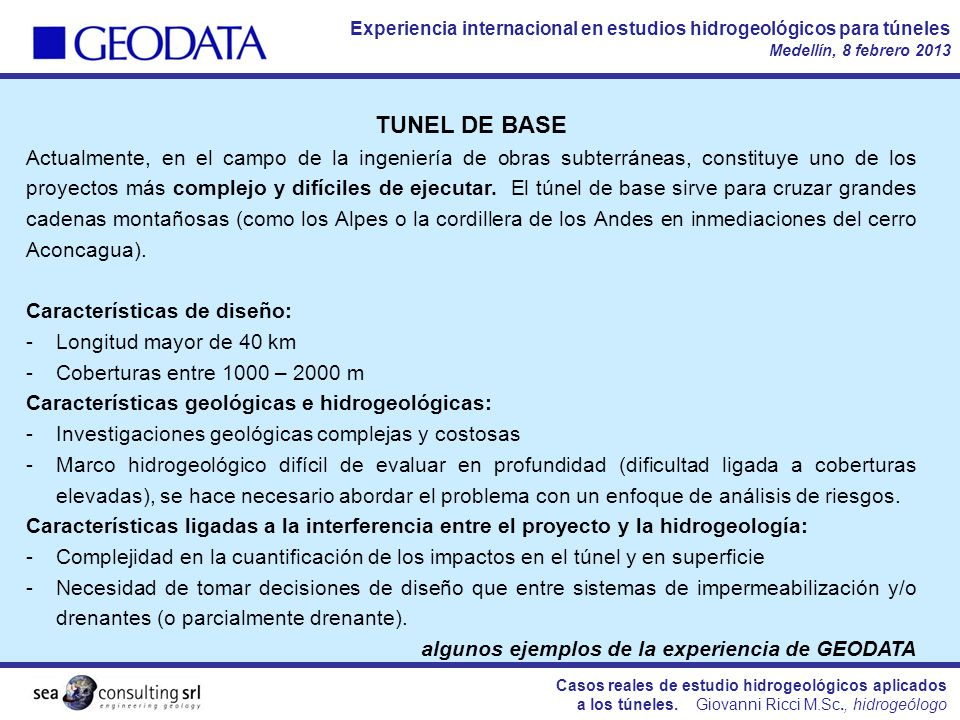 TUNEL DE BASE