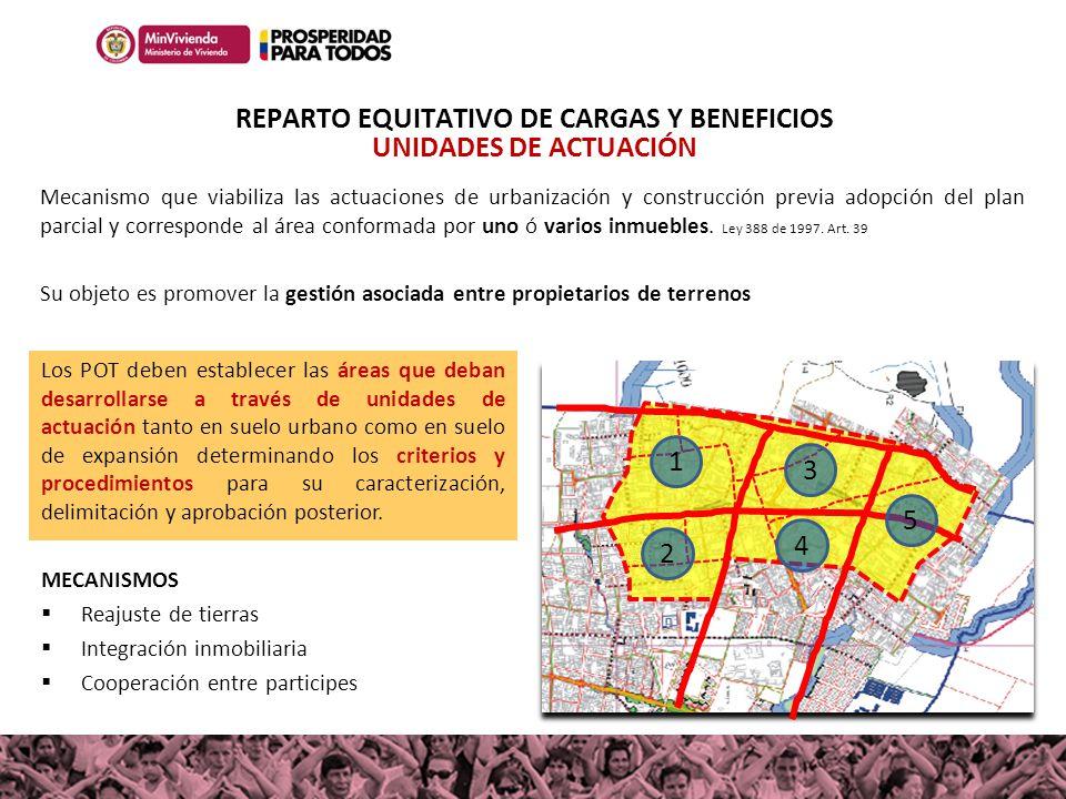 REPARTO EQUITATIVO DE CARGAS Y BENEFICIOS