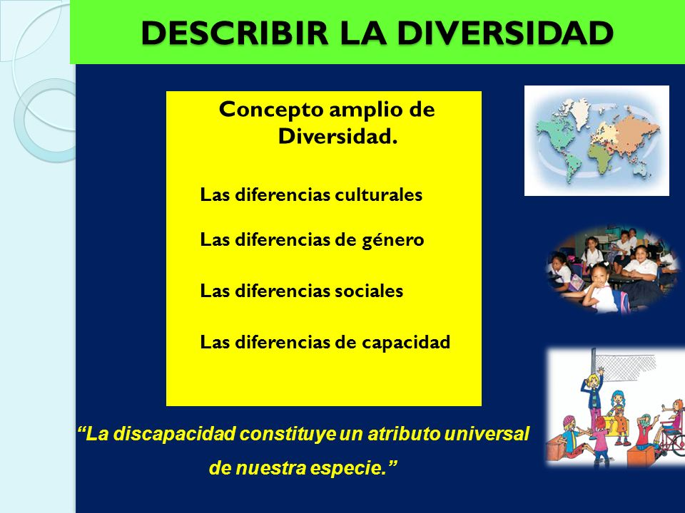 DESCRIBIR LA DIVERSIDAD