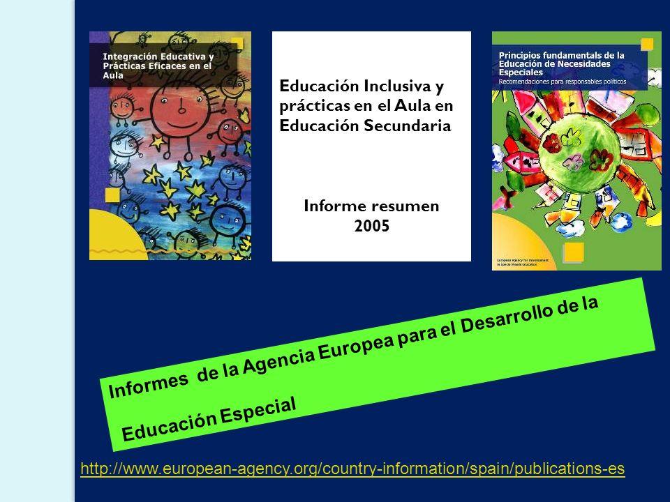 Informes de la Agencia Europea para el Desarrollo de la