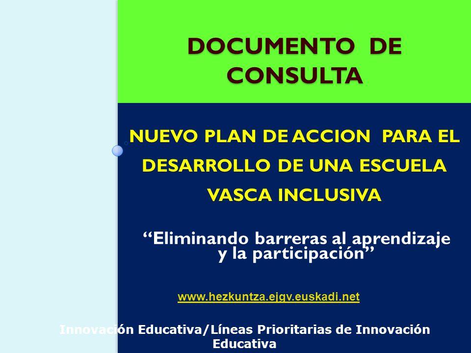 Eliminando barreras al aprendizaje y la participación