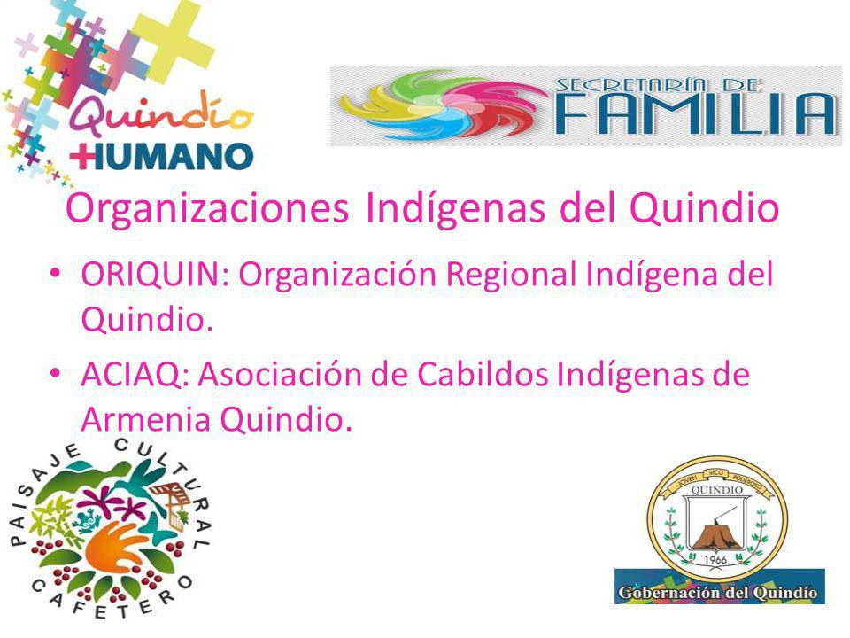 Organizaciones Indígenas del Quindio