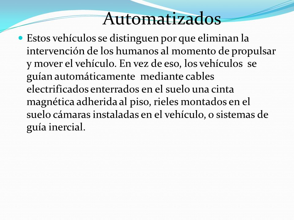 Automatizados