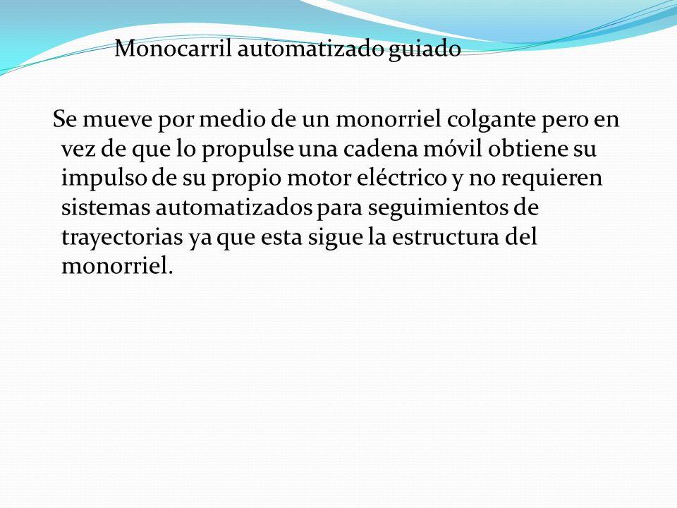 Monocarril automatizado guiado
