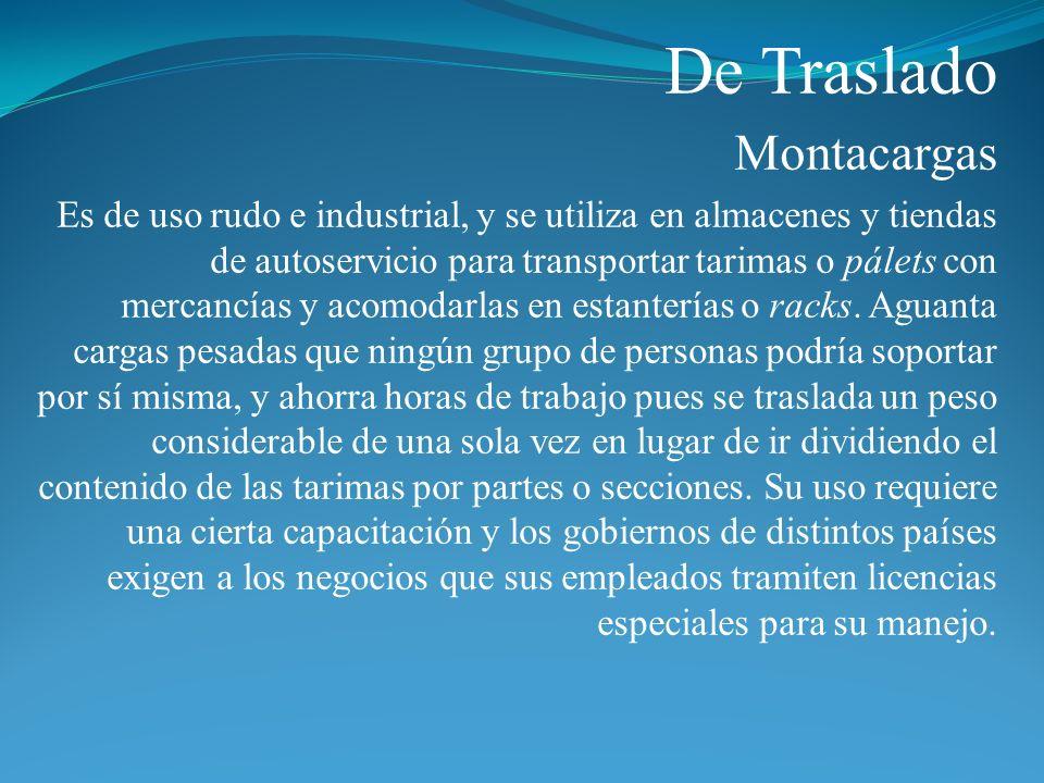 De Traslado Montacargas