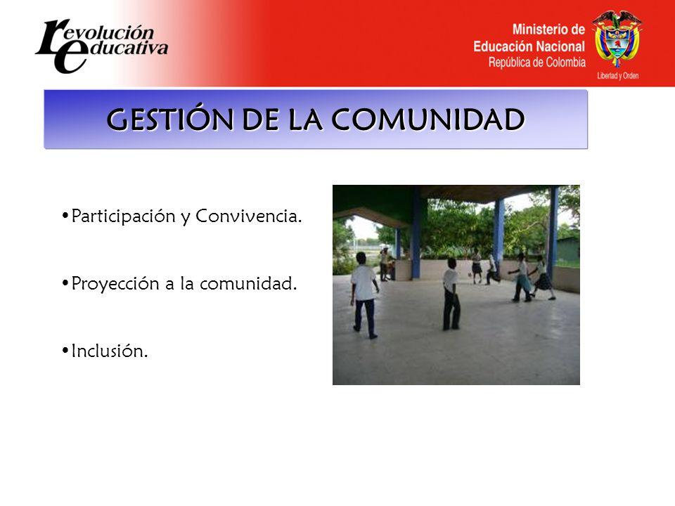 GESTIÓN DE LA COMUNIDAD