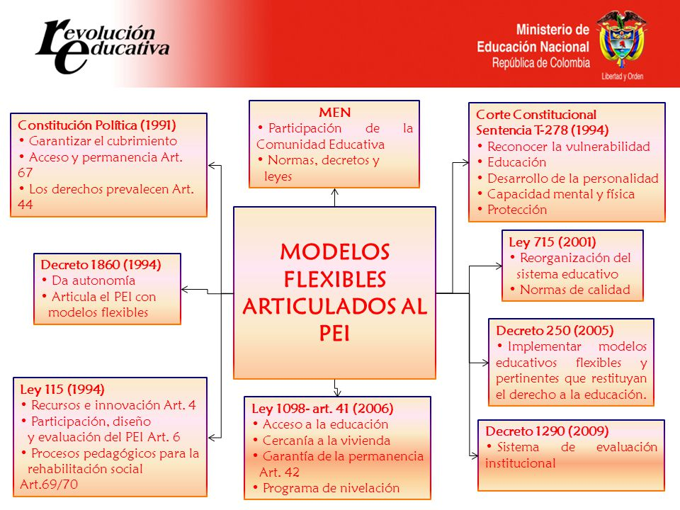MODELOS FLEXIBLES ARTICULADOS AL PEI