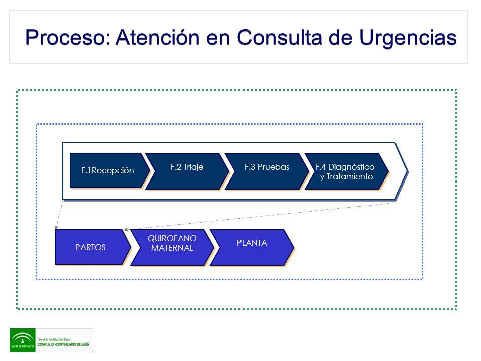 Proceso: Atención en Consulta de Urgencias