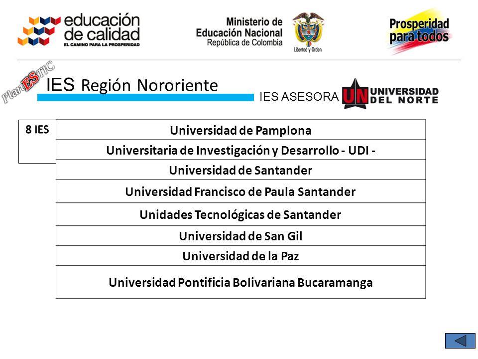 IES Región Nororiente Universidad de Pamplona