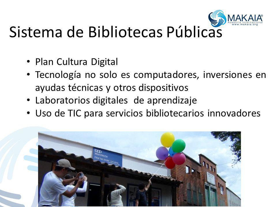 Sistema de Bibliotecas Públicas