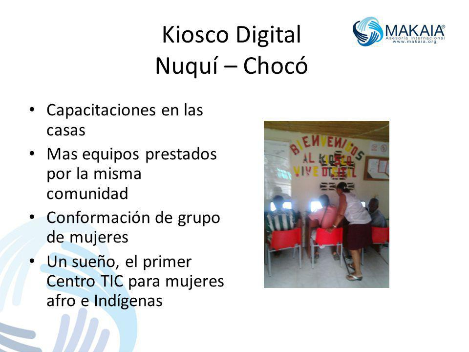 Kiosco Digital Nuquí – Chocó
