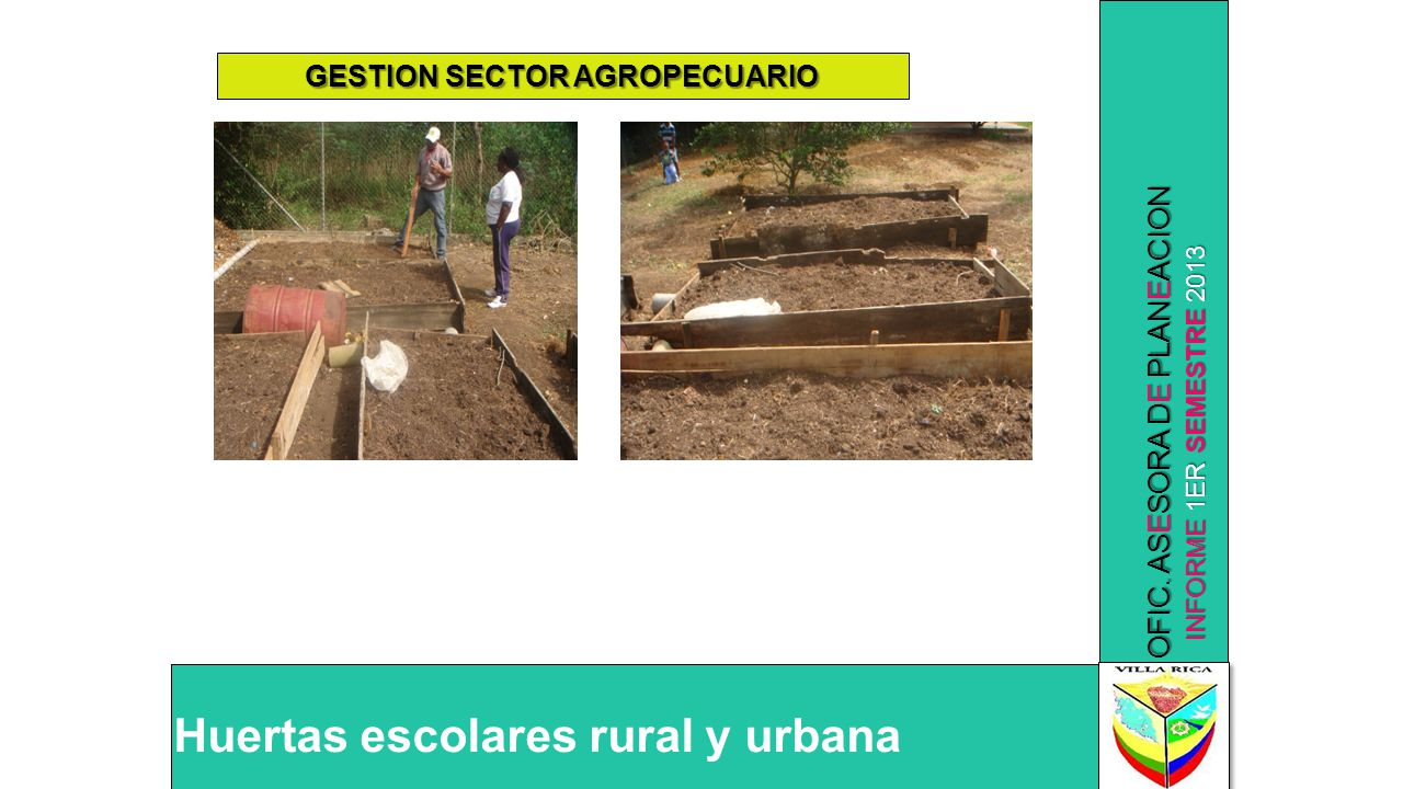 GESTION SECTOR AGROPECUARIO