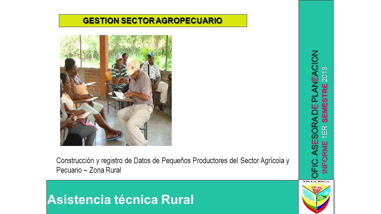 GESTION SECTOR AGROPECUARIO