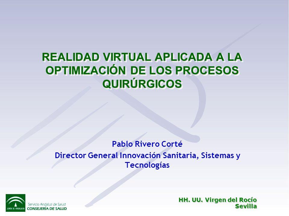 Director General Innovación Sanitaria, Sistemas y Tecnologías