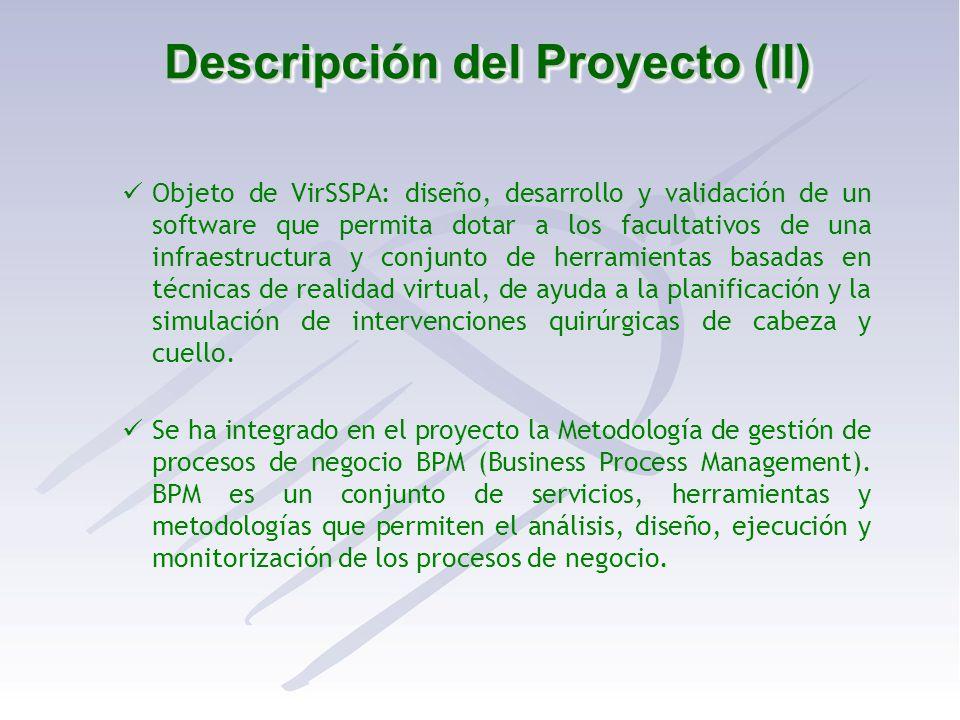 Descripción del Proyecto (II)