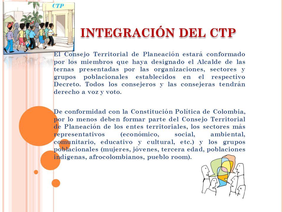 INTEGRACIÓN DEL CTP