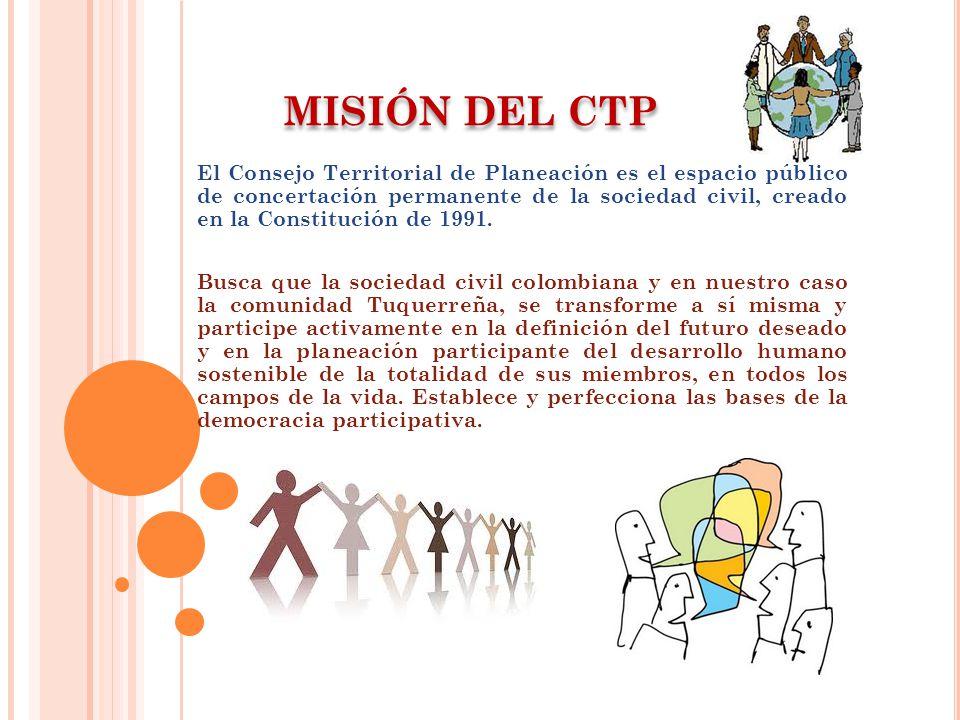 MISIÓN DEL CTP