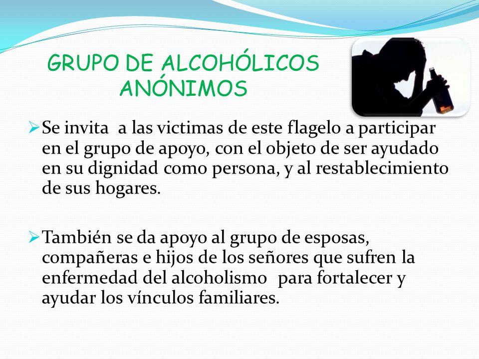GRUPO DE ALCOHÓLICOS ANÓNIMOS