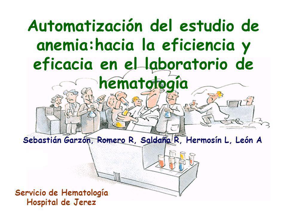 Automatización del estudio de anemia:hacia la eficiencia y eficacia en el laboratorio de hematología