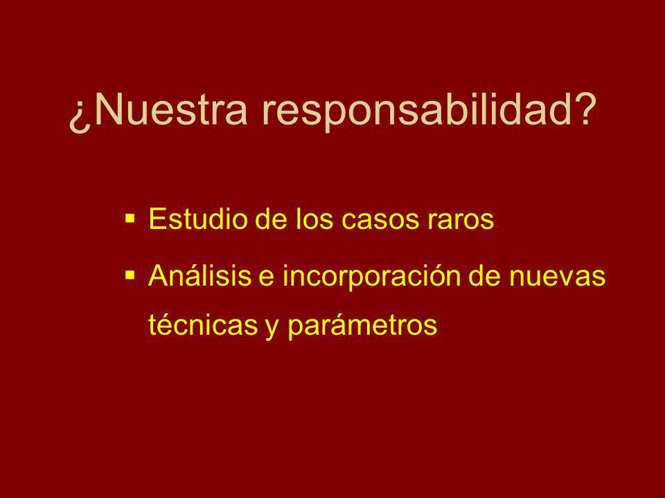 ¿Nuestra responsabilidad