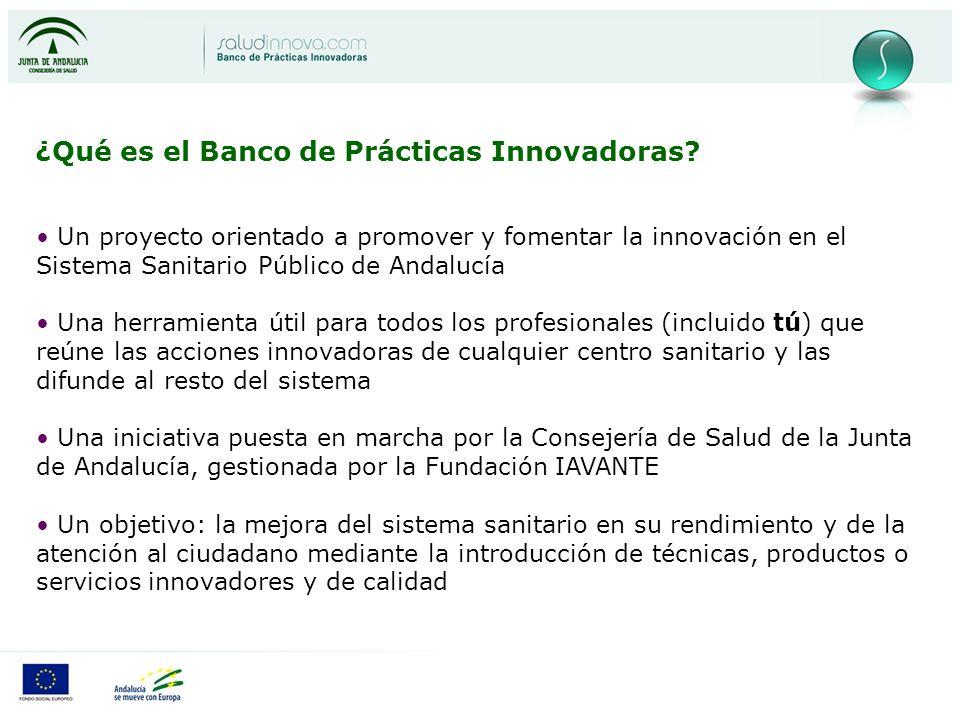 ¿Qué es el Banco de Prácticas Innovadoras