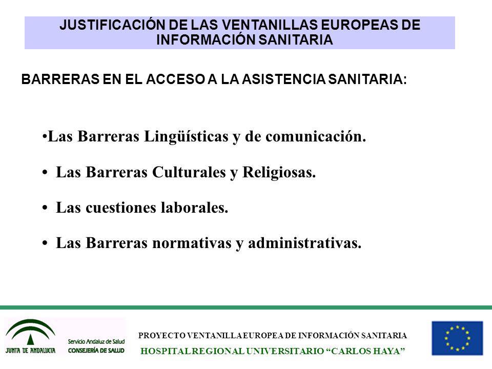 Las Barreras Lingüísticas y de comunicación.