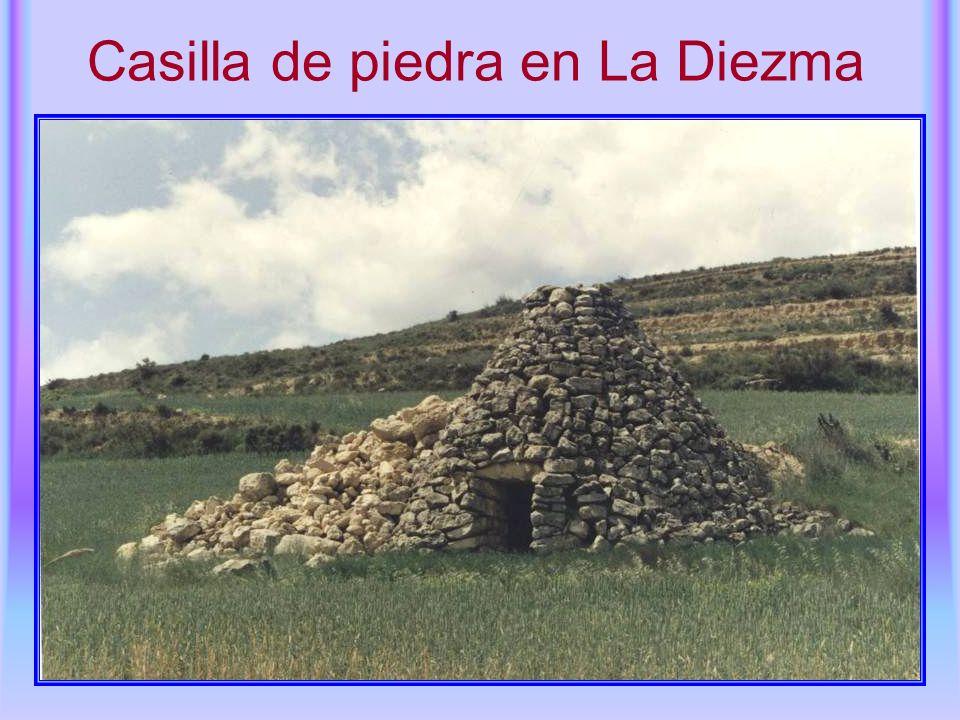 Casilla de piedra en La Diezma