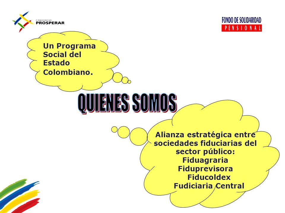 Alianza estratégica entre sociedades fiduciarias del sector público: