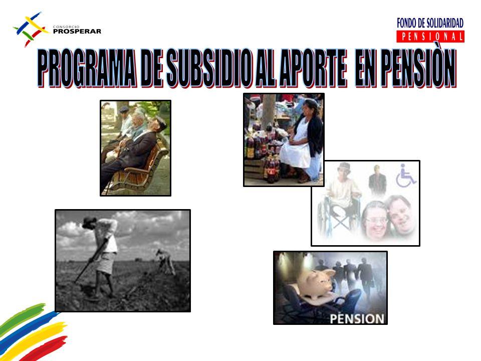PROGRAMA DE SUBSIDIO AL APORTE EN PENSIÒN