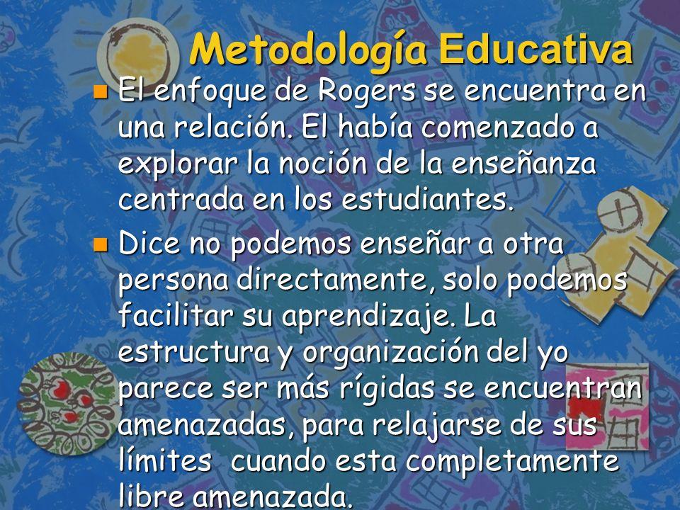 Metodología Educativa