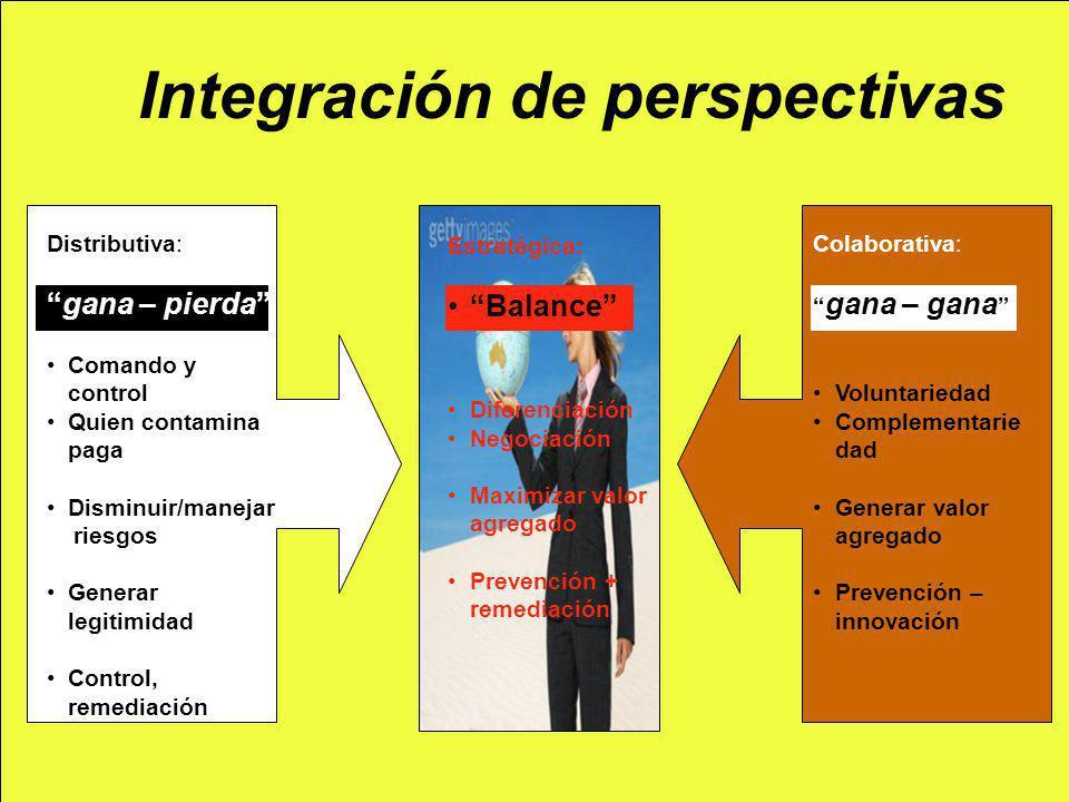 Integración de perspectivas