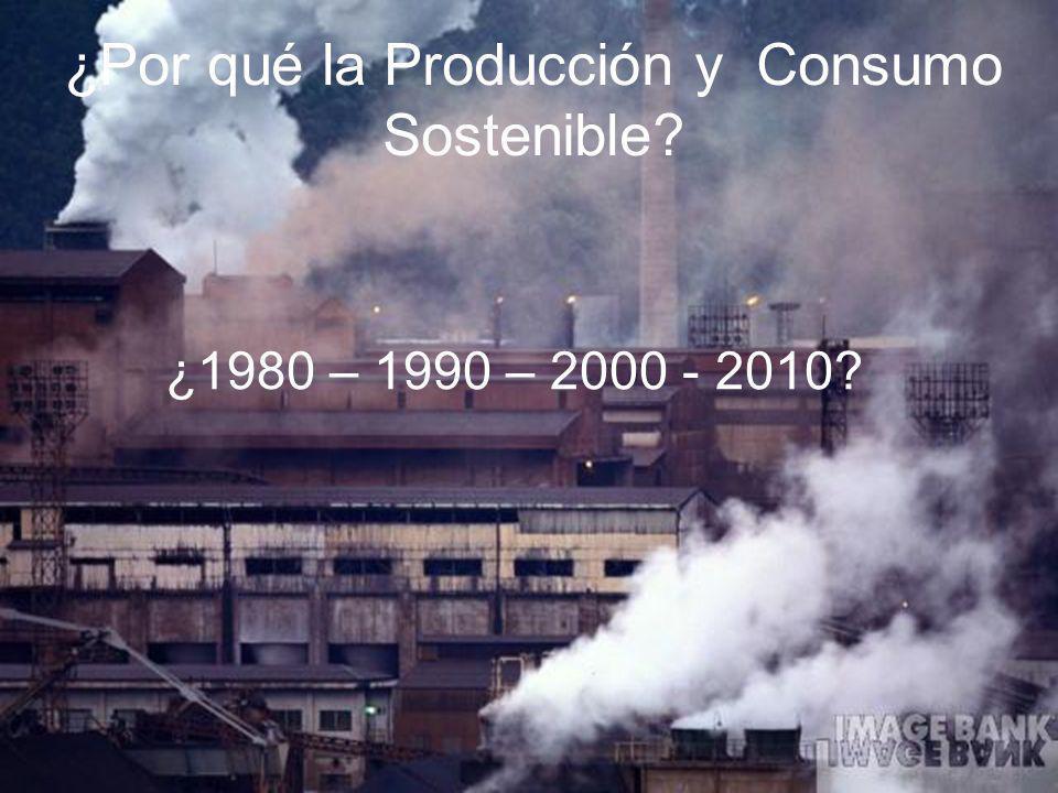 ¿Por qué la Producción y Consumo Sostenible