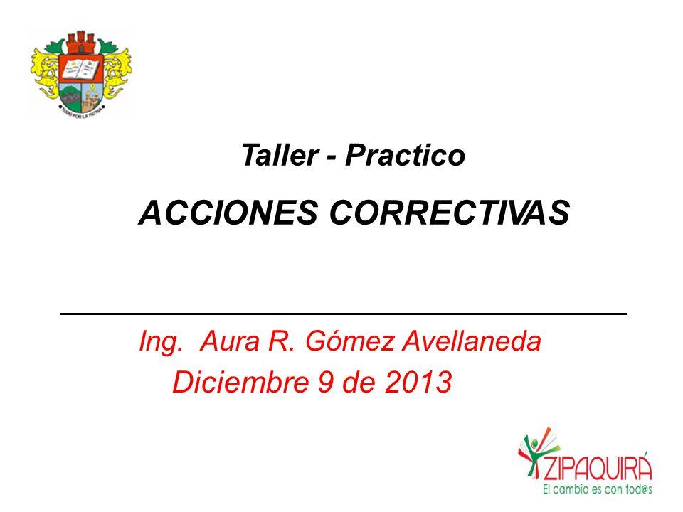 Ing. Aura R. Gómez Avellaneda